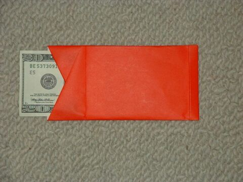 CHINESE RED ENVELOPE ORIGAMI